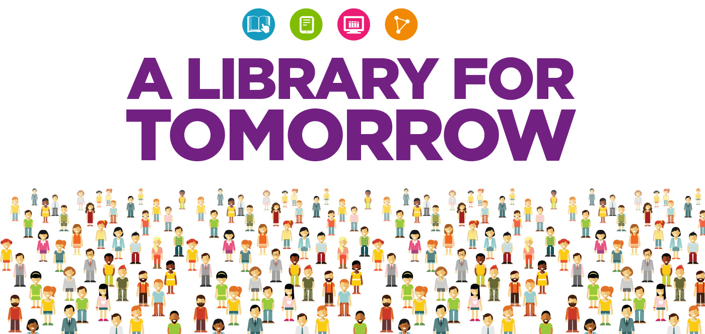 A Library for Tomorrow Graphic